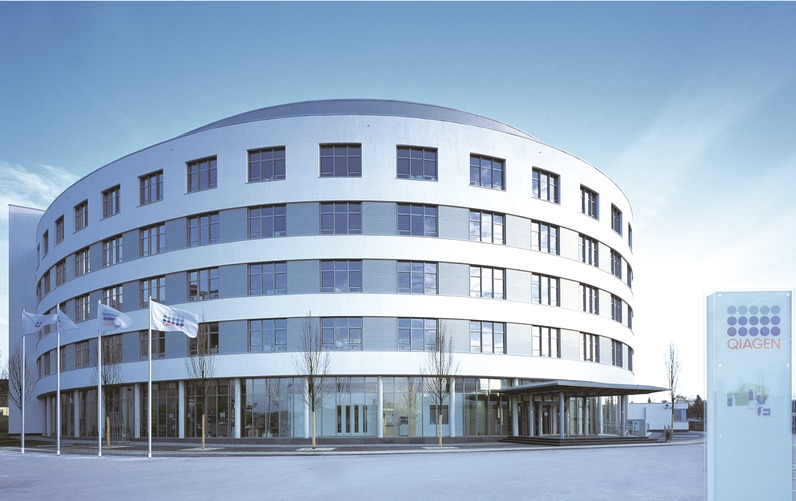 Headquarter QIAGEN in Hilden, Germany