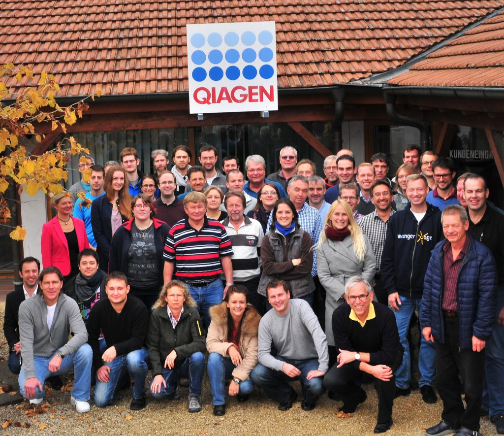 The employees of QIAGEN Lake Constance GmbH