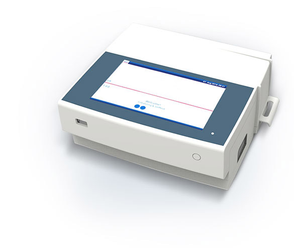 The ESEQuant LR3 in white with closed drawer